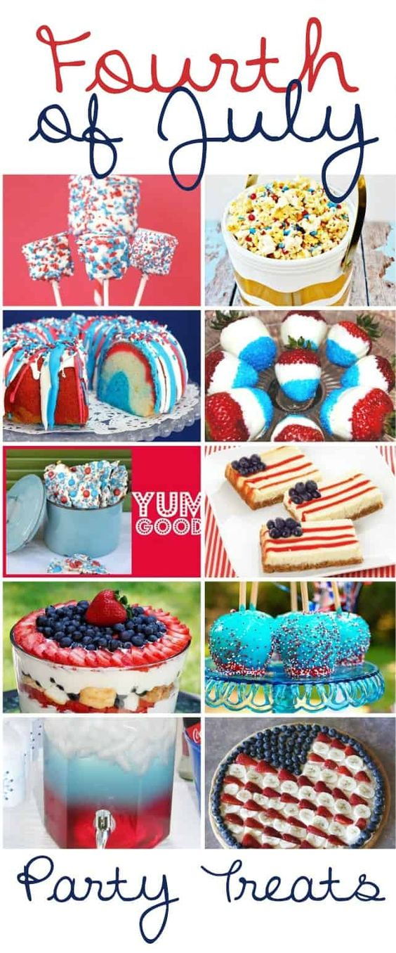 Fourth of July Party Treats - 4th of July Dessert Recipes