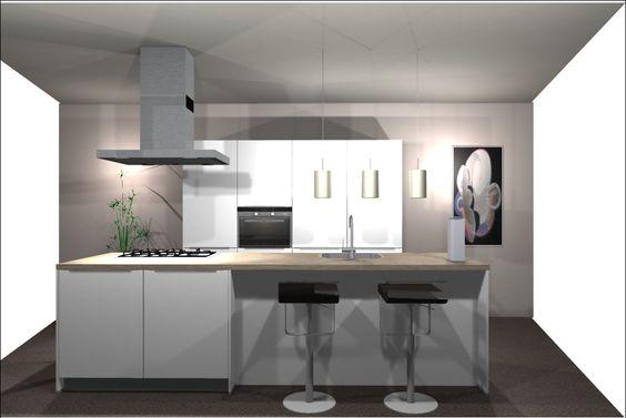 Pinterest de idee ncatalogus voor iedereen - Keuken kookeiland ontwerp ...