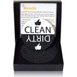 #7: Clean Dirty Dishwasher Magnet by De Dazzle. Big Clean and Dirty Signs for Easy Visibility and Indication. Works on Metallic & Non-Metallic Dishwashers. Perfect Kitchen Gadget for Home and Gifting.