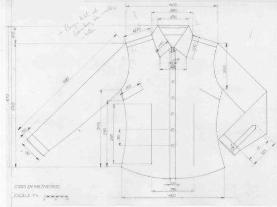 web con consejos para el dibujo plano de moda