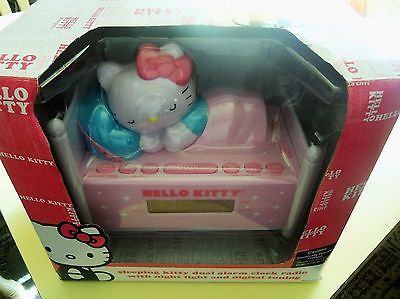 2013 Hello Kitty Dual Alarm Clock Radio w Night Light & Digital Tuning MIB https://t.co/fxLsEU70dw https://t.co/SMV60EEOyK