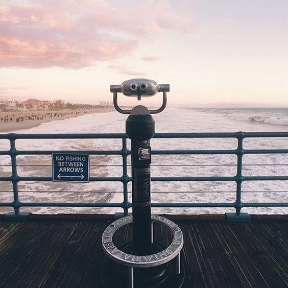 Tag someone you want to share this view with 🙌🏼💕 #santamonica #sunset #california Photo @alphalight  #Regram via @santamonicafun