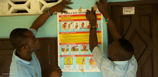 LandsAid plant Hilfe in Sierra Leone: Rund neun Monate wütet die Ebola-Epidemie bereits in Westafrika. Über 15.000 Menschen haben sich mit dem lebensbedrohlichen Ebola-Virus infiziert. Und die Zahl der Toten steigt täglich weiter. Vor allem die Menschen in Liberia, Sierra Leone und Guinea sind betroffen.