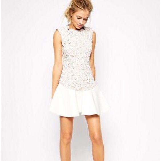 Stylestalker Animal Lace Dress Sleeveless lace dress by stylestalker. In XS. Perfect for a wedding dress outfit change! Stylestalker Dresses Mini