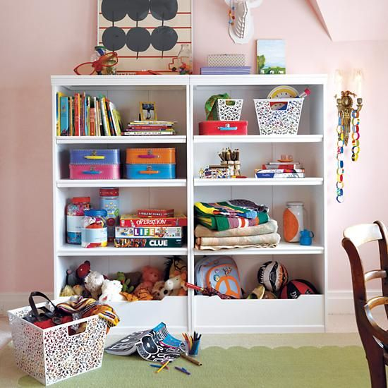 60 Flat Top Bookcase White In Bookcases The Land Of Nod