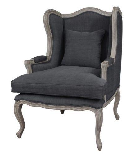 fauteuil bergere gris fauteuil bergere maison maison restaurer rêve ...