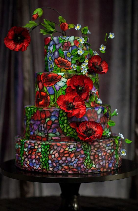 It's a tale as old as time, and we love it. Beauty and the Beast is a Disney classic with a romantic story line and seriously amazing first dance inspiration (Belle + Beast = first dance goals). We love this elegant wedding cake by The Mischief Maker, which has subtly been inspired by the stained glass window in the film. It's a great choice if you don't want to shout to everyone 'I LOVE DISNEY', but you want a subtle nod to your favourite film.