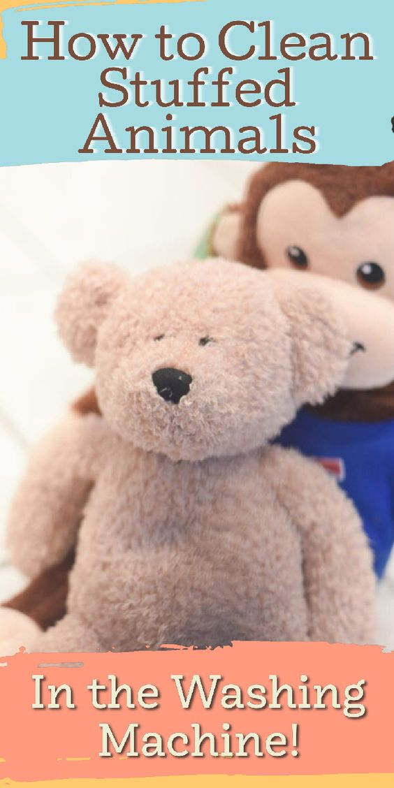 Can You Wash Stuffed Animals In The Washing Machine Pin On Frugal Family Living