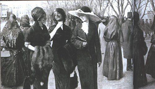 Yingce: Modern Turkish girls, Ottoman Empire, 1912.