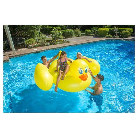 Poolmaster Inflatable Duck - Yellow