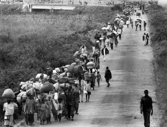 Refugees in the Nigerian Civil War: