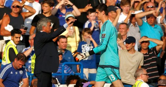 Jose Mourinho's furious rant about Chelsea goalkeeper Thibaut Courtois revealed