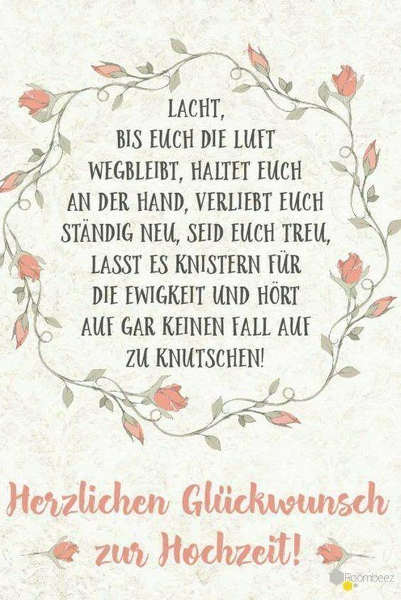 Pin Von Andrea Auf Spruche Herzlichen Gluckwunsch Zur Hochzeit Spruche Hochzeit Wunsche Zur Hochzeit