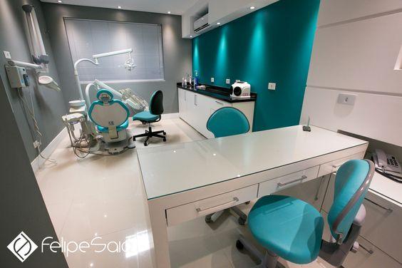 Projeto de consultório Odontológico por Felipe Saia Arquitetura