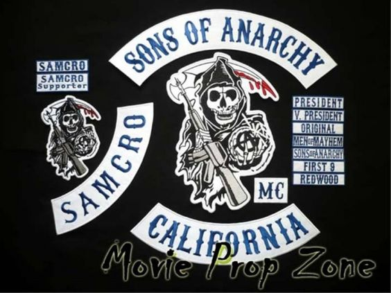 Sons of Anarchy Patch Over TV Episode 2008 - IMDb