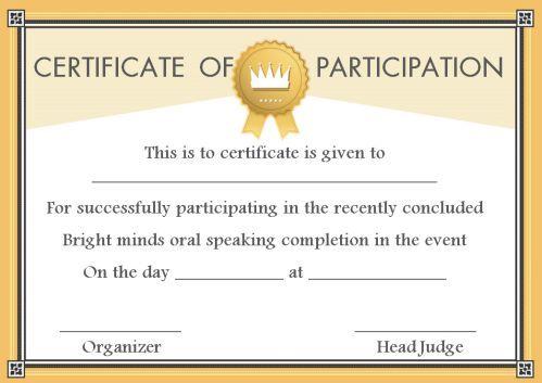 Speech Contest Winner Certificate Template 10 Free Pdf Document Downloads Template Sumo Certificate Templates Science Fair Contest Winner