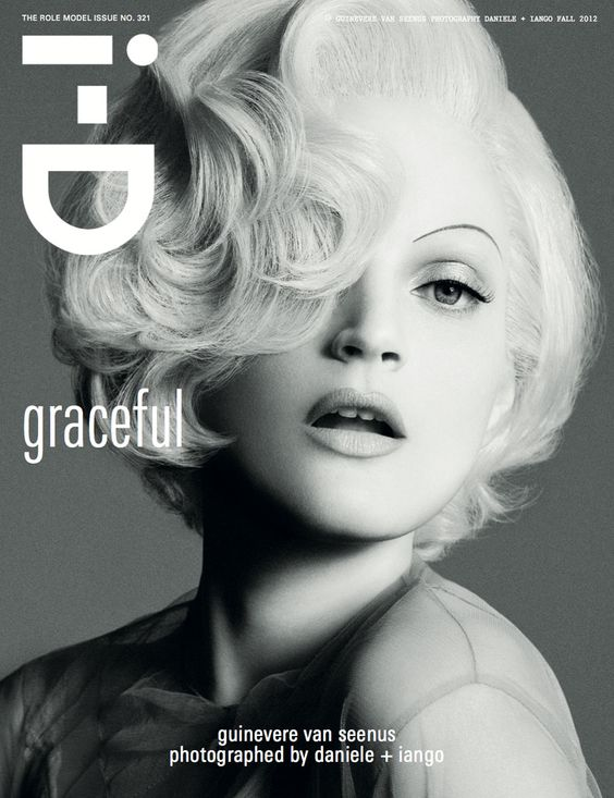 i-donline:    The Role Model Issue 2012  Cover 11 of 16. Guinevere van Seenus in No. 21 on Role Model Issue cover 11/16! Photography: Daniele + Iango. Styling Patti Wilson. More here.  i-Donline.com