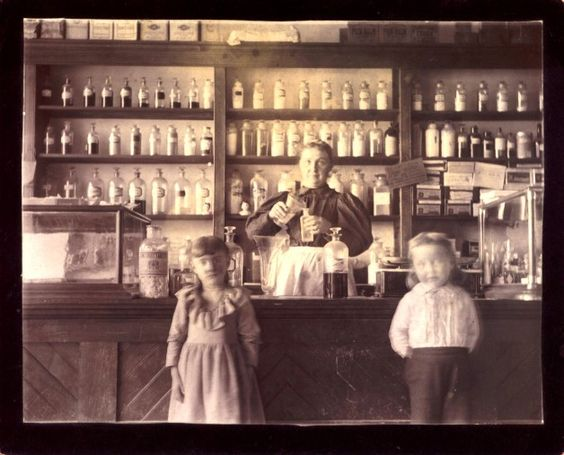 pictures from the 1890s..fix whatever ails u