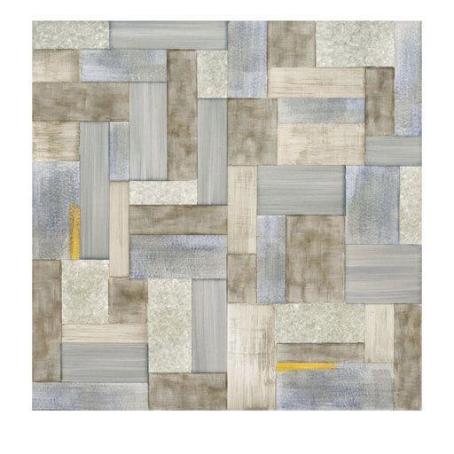 Wallpaper Seven Beige Tiles In 2020 Hand Painted Wallpaper Beige Tile Painting Ceramic Tiles