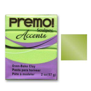 Pâte Prémo Accents 57 gr Perle Vert Brillant (n°5035)
