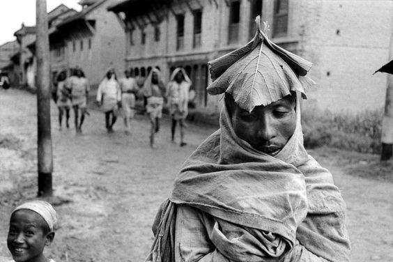 MARC RIBOUD  Népal, 1956
