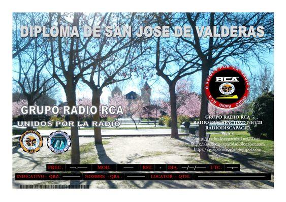 Nuevo Diploma para ser activado (San Jose de Valderas)