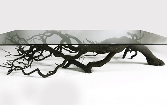 Tree coffe table by Sebastian Errazuriz: