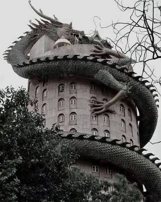Dragon House Crazy Houses Unusual Buildings Unusual Homes