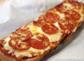 Easy Garlic Bread Pizza