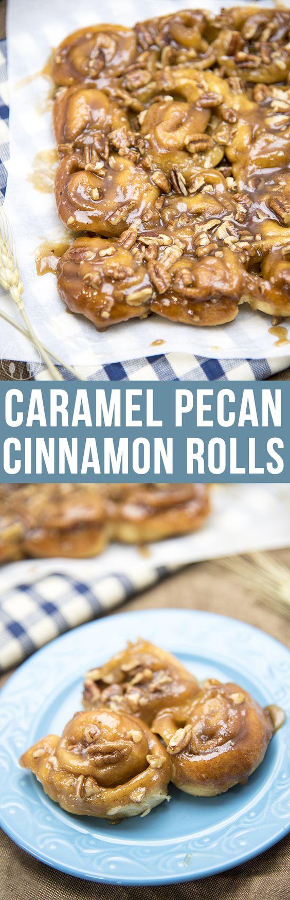 Rolls | Recipe | Caramel Pecan, Cinnamon Rolls and Mini Cinnamon Rolls ...