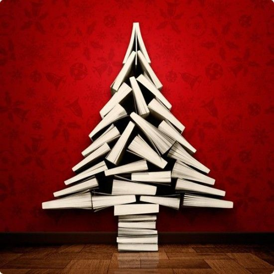 Wonderful DIY Stunning Book Christmas Tree | WonderfulDIY.com:
