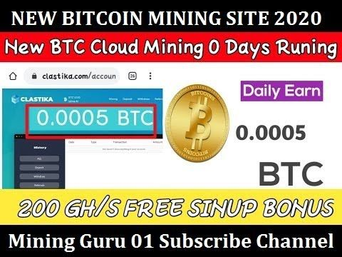 bitcoin mining investment 2020 the new bitcoin investment