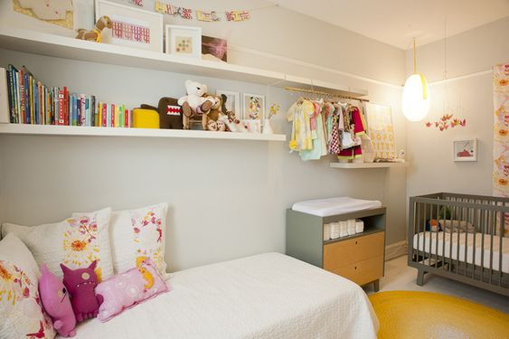 small nursery: Guest Room, Shared Room, Kids Room, Guest Bedroom, Baby Room, Kid Room