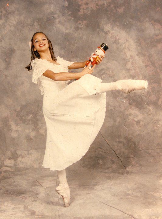Misty Copeland as Clara (Nutcracker Ballet, 1994):