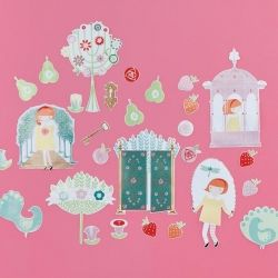 Mary Mary Wall Stickers - The Block Shop - Channel 9 $29.95