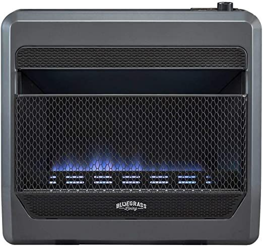 Bluegrass Living Bluegrass B30tpb Bb Vent Free Blue Flame Gas Space Heater With Blower And Base Fe In 2020 Natural Gas Wall Heater Gas Wall Heaters Wall Mounted Heater