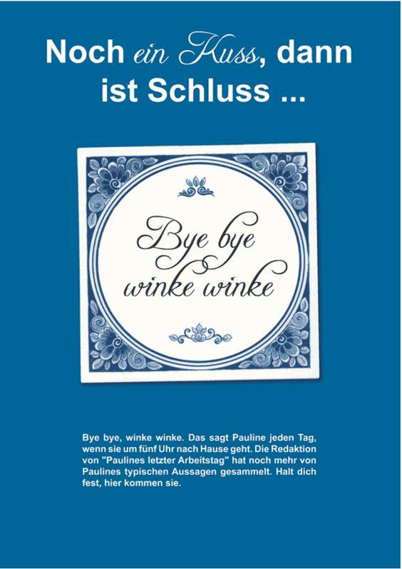 Time to say Goodbye!  www.jilster.de #Abschied #Kollege #Abschiedsgeschenk #Zeitung #selbermachen