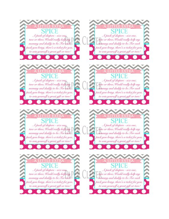 Baby Shower Invitations With Diaper Raffle Wording as adorable invitations example