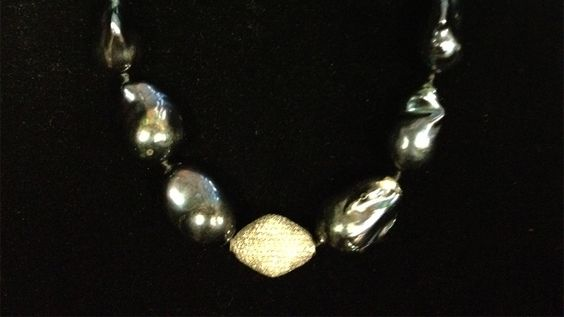 Katie's necklace for the hair show was Fragments by Jordan Alexander