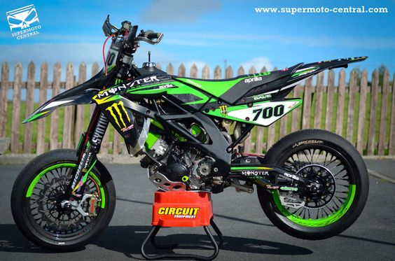 Aprilia SXV 450 VdB 2007 Monster Energy Special
