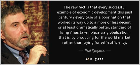 TOP 25 QUOTES BY PAUL KRUGMAN (of 115)   A-Z Quotes