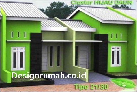 100 Contoh Denah Rumah Cluster Keren Terbaru Rumah Hijau Rumah