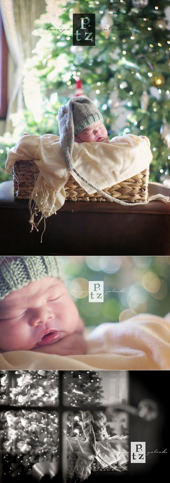 newborn photo session for Christmas...ya never know, he could be a Christmas baby.