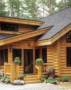 Steel Log Siding, the Wood Look with No Maintenance « Luxury Housing Trends