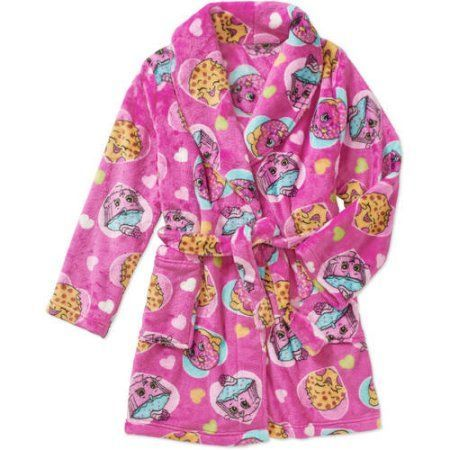 Girls' Licensed Plush Robe, Size: 10/12, Pink