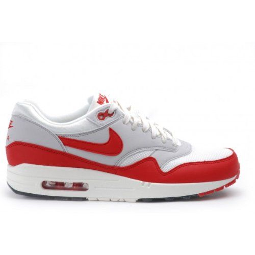 nike force aire d une femme - Nike 2013 AIR MAX1 OG Mens Vintage Sail Red Retro Running Shoes ...