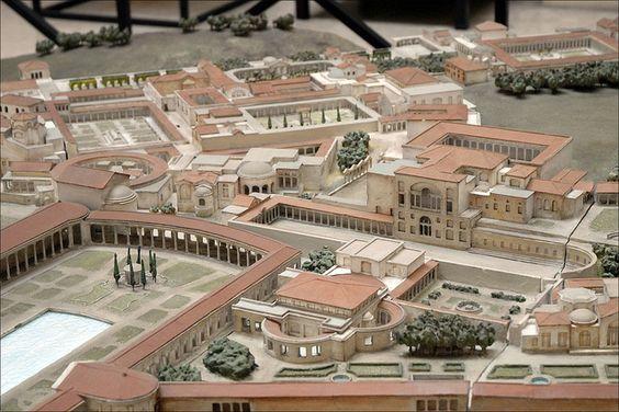 Maquette de la Villa d'Hadrien (Rome) by dalbera, via Flickr