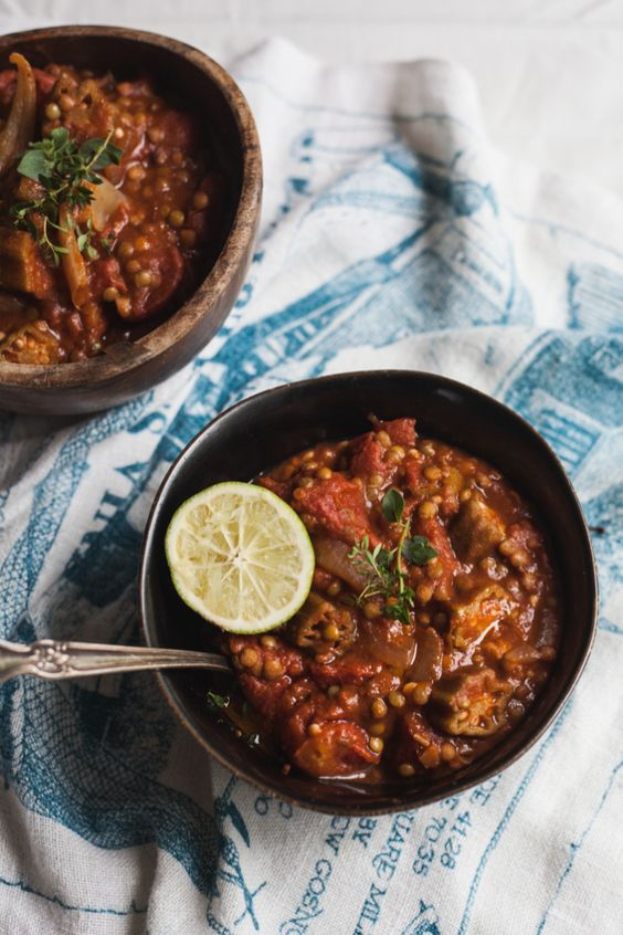 Summer Lentil and Okra Gumbo: a taste of New Orleans in every spoonful (gf, vegan).