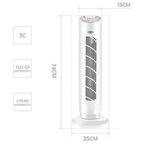 Fam Famgizmo 29 Cooling Tower Fan Portable Oscillating 3