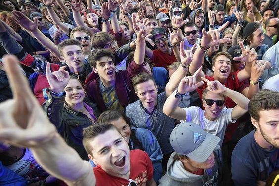 Les Rolling Stones au Festival d'Été de Québec, sur les Plaines, le 15 juillet 2015 ---  100 000 spectateurs